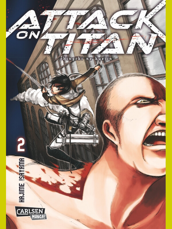 Attack on Titan Band 2