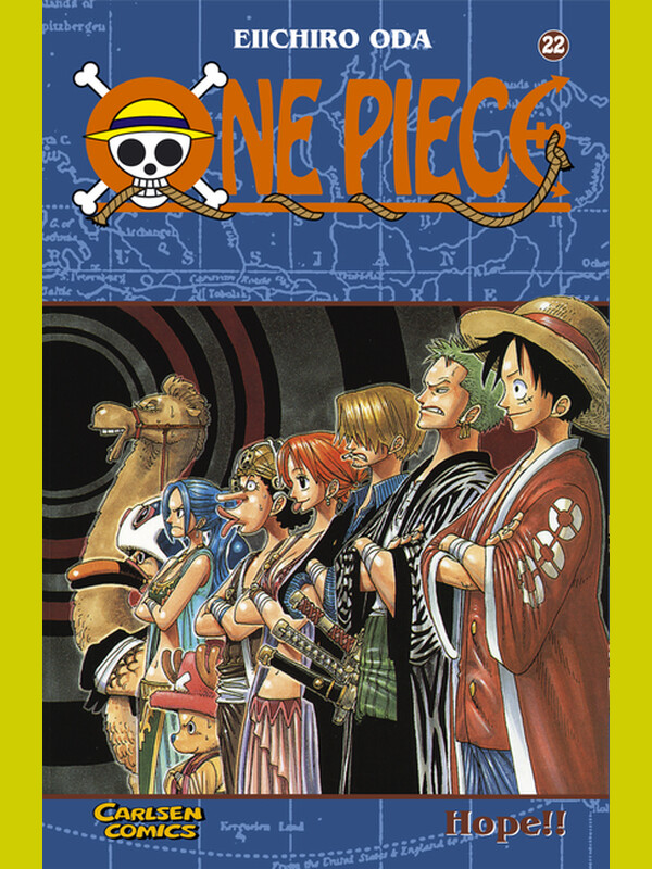 ONE PIECE Band 22