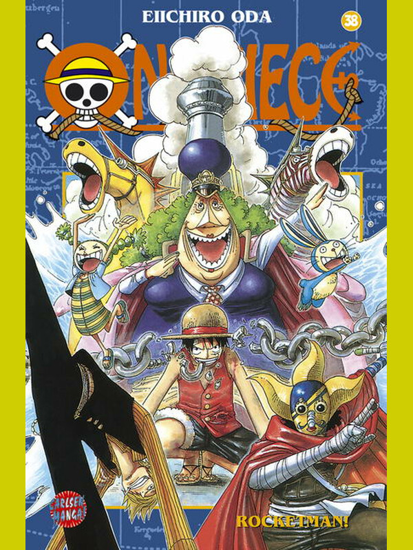 ONE PIECE Band 38
