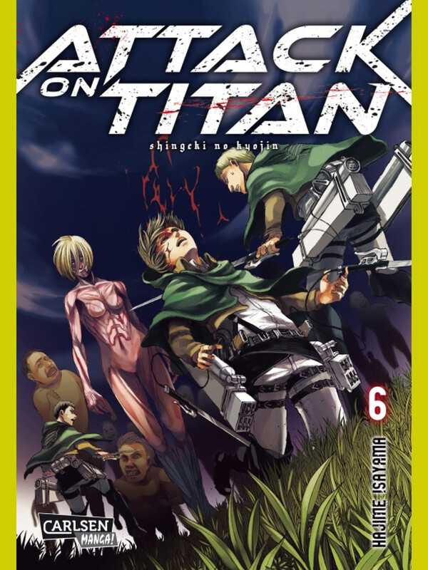 Attack on Titan Band 6