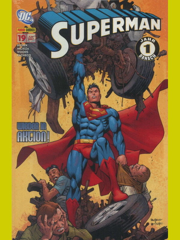SUPERMAN SONDERBAND 19: WIEDER IN AKTION