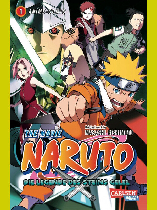 Naruto - The Movie: Die Legende des Steins von Gelel, Band 1