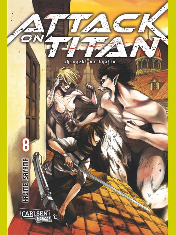 Attack on Titan Band 8