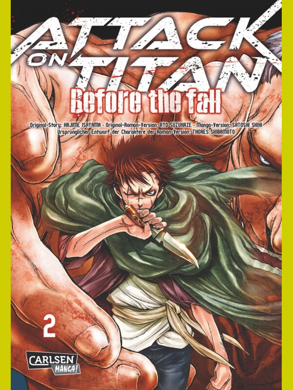 Attack on Titan - Before the Fall Band 2