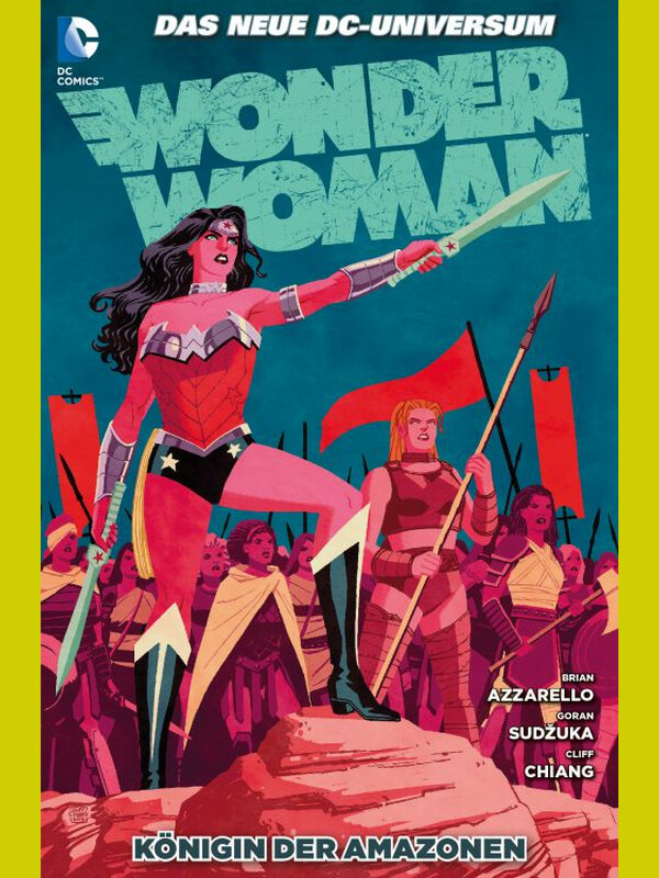 WONDER WOMAN 6  KÖNIGIN DER AMAZONEN