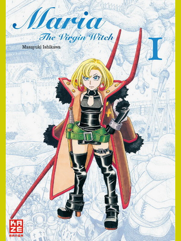 Maria, the Virgin Witch  Band 1