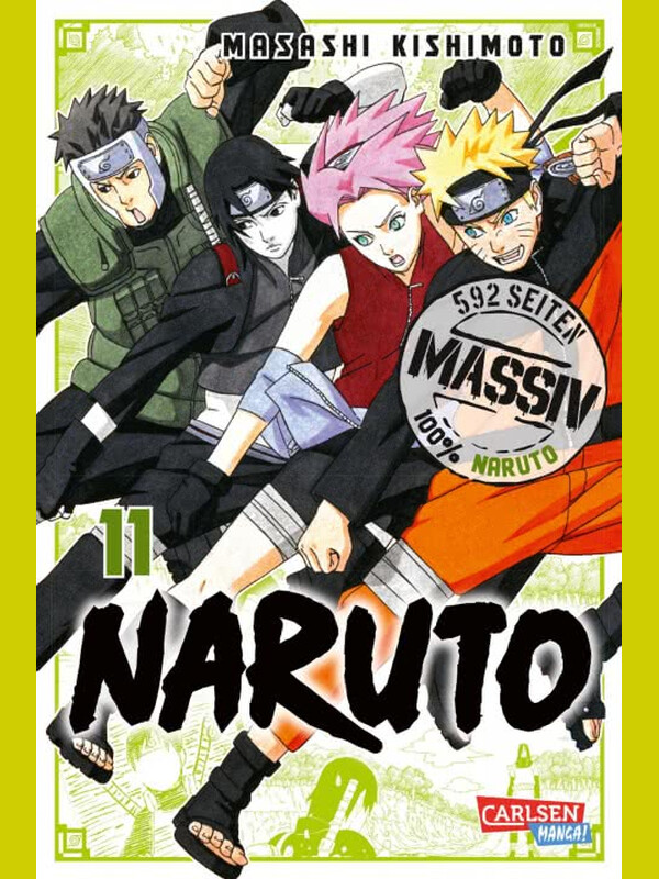 NARUTO Massiv 11 ( Neuedition )