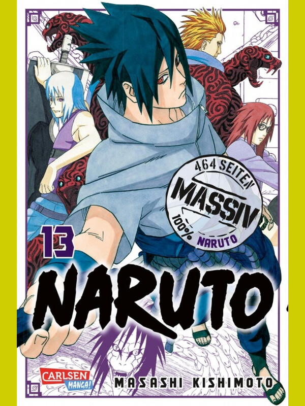 NARUTO Massiv 13 ( Neuedition )