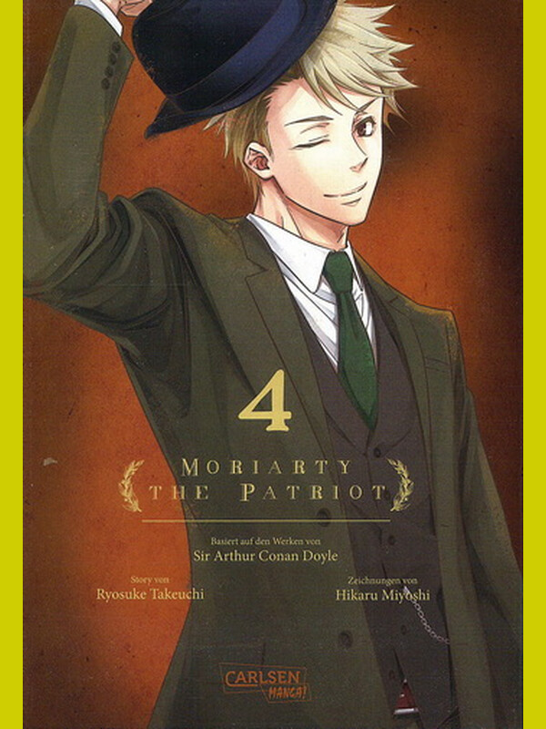 Moriarty the Patriot  Band 4 ( Deutsch )
