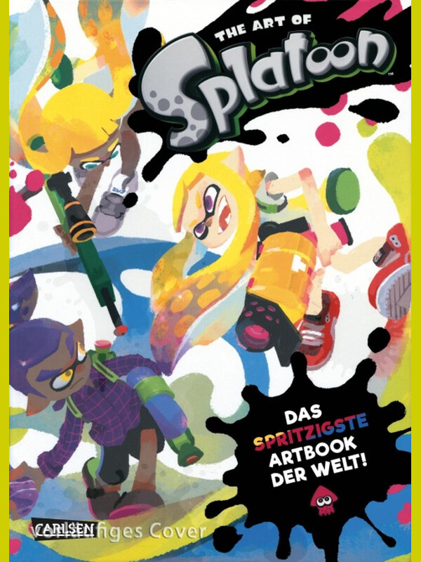 The Art of Splatoon (Hardcover) Deutsche Ausgabe