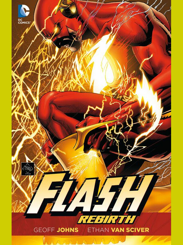 FLASH REBIRTH SC (DC Paperback 78)