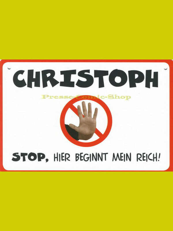 Coole Schilder - CHRISTOPH