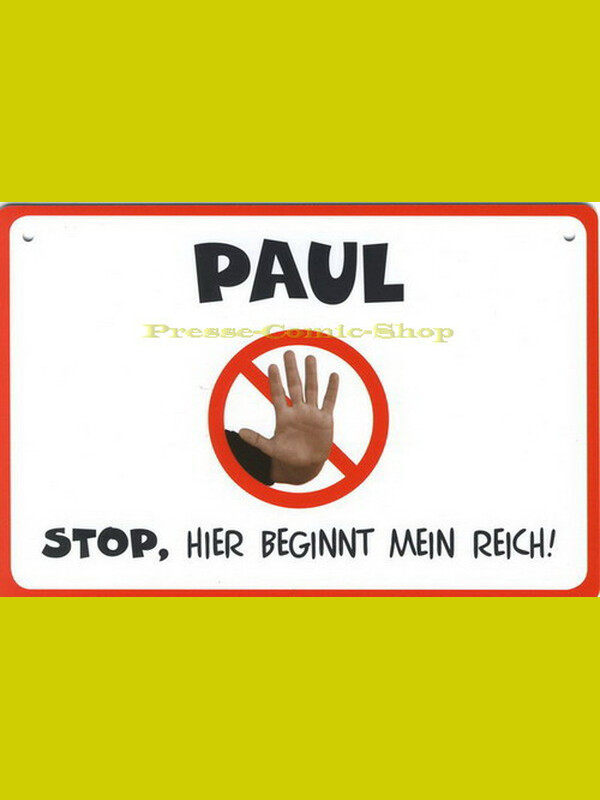 Coole Schilder - PAUL